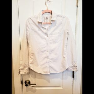SO White Lond Sleeve Button Down